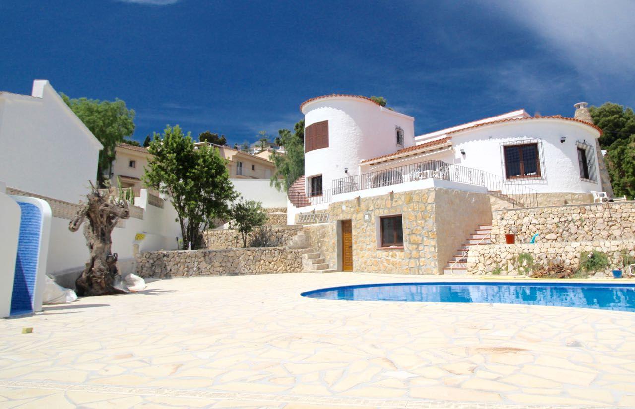 Villa in Altea, San Chuchim, holiday rentals