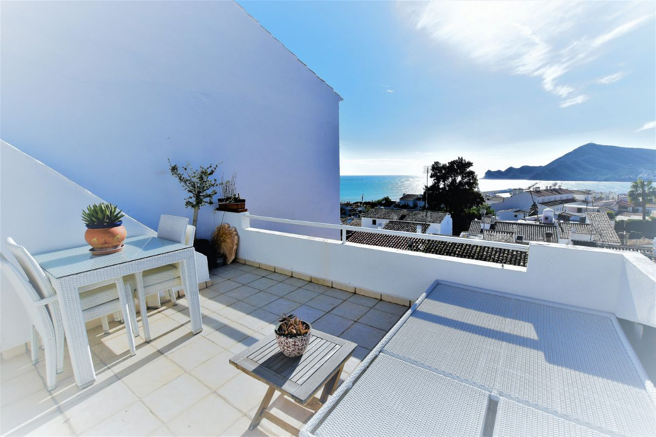 For Sale Town House In Altea Casco Antiguo With Garage