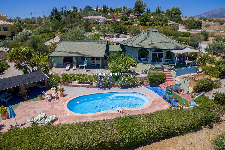 Piscine En Fibre De Verre A Vendre vente maison de campagne à viñuela, pantano viñuela piscine