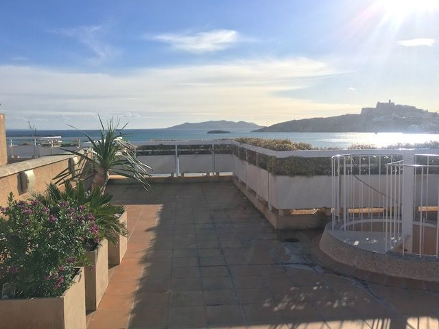 Penthouse in Ibiza, Paseo Marítimo, for rent