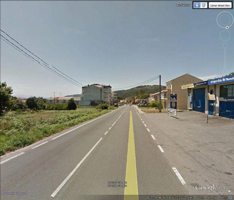Solar Urbano en Cee, avenida fisterra, venta