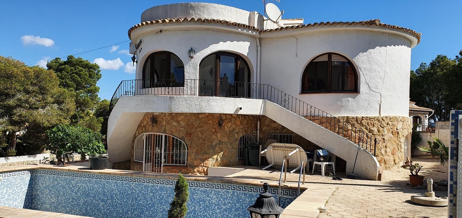 Villa in Moraira, Cap Blanc, for sale