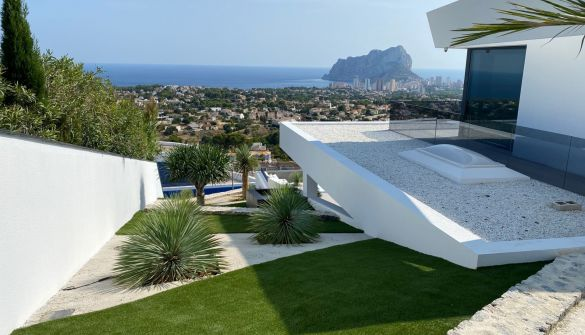 New Development of luxury villas in Calpe / Calp
