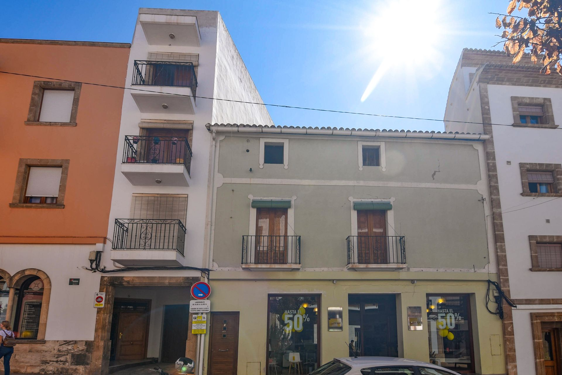 Apartment in Jávea, Pueblo, for sale