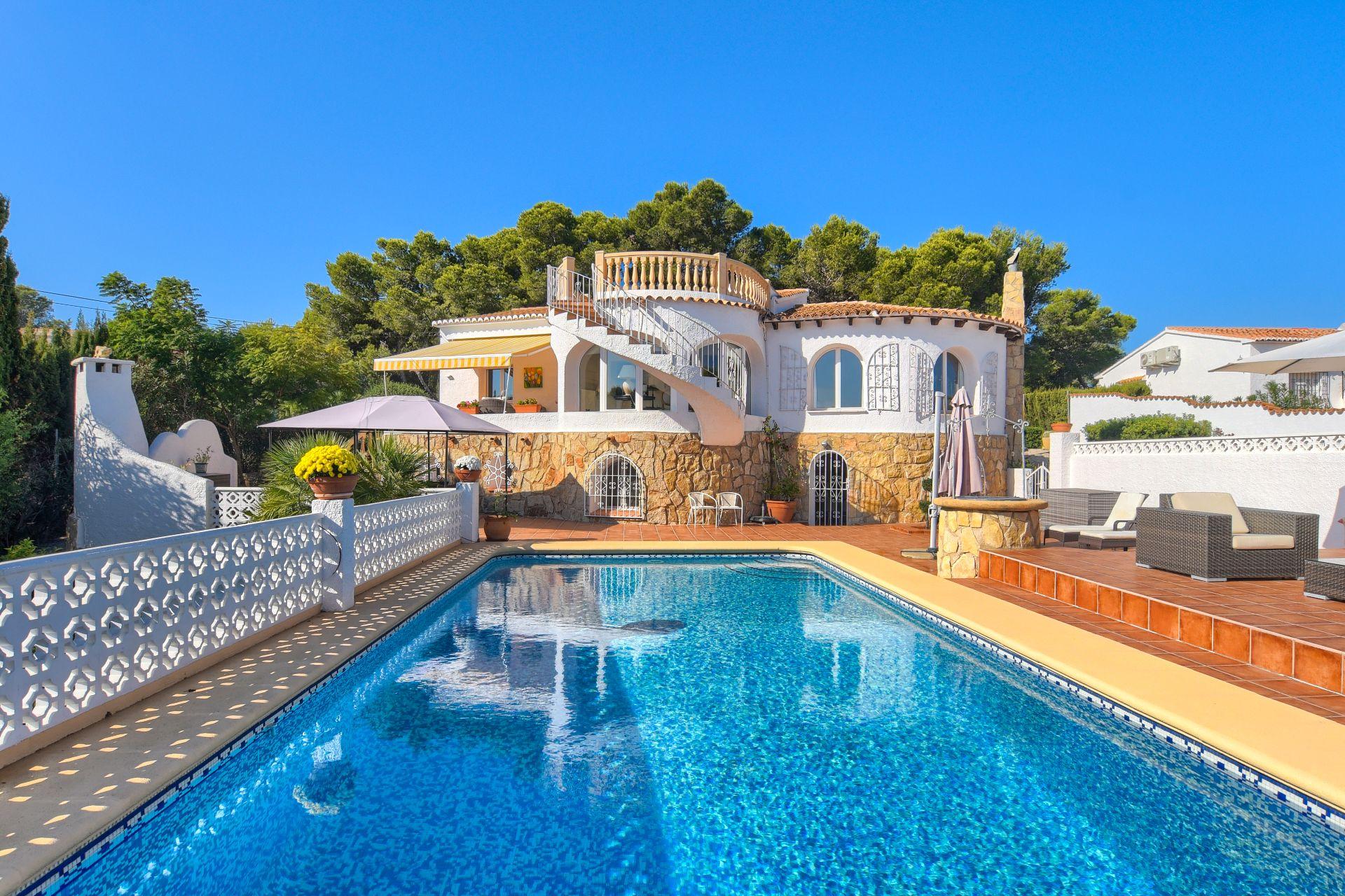 Villa in Jávea, Balcon al mar, for sale