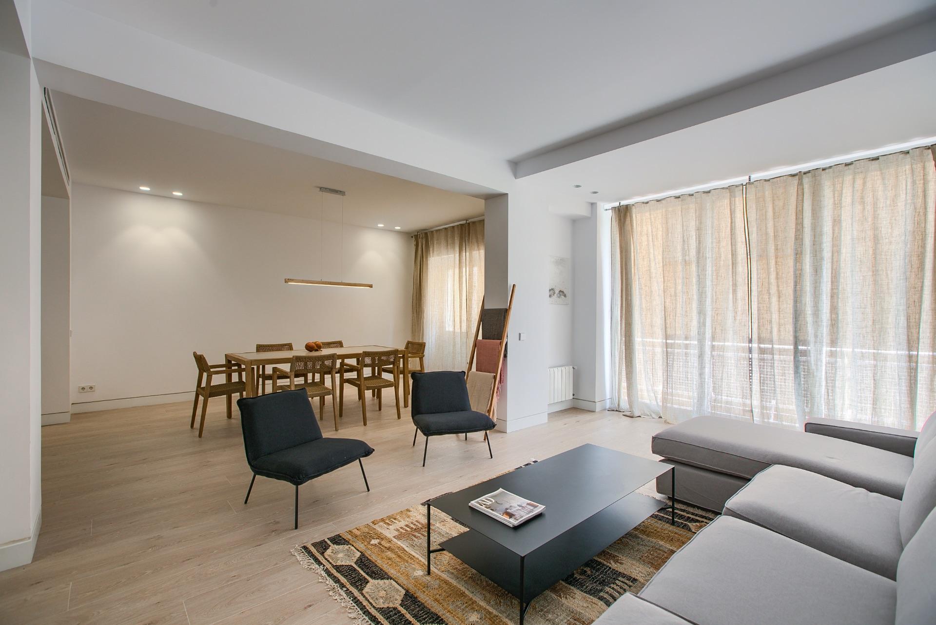 Lejlighed i Madrid, leje