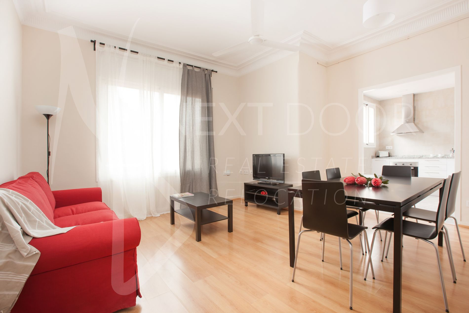 Appartement à Barcelona, Sarria-Sant Gervasi, location