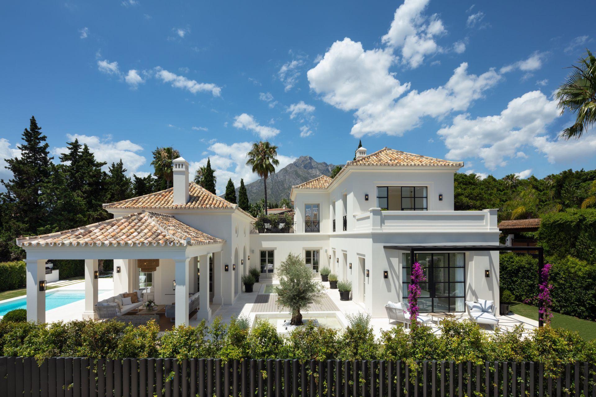 Villa de Lujo en Marbella, Naguelles - Sierra Blanca, venta