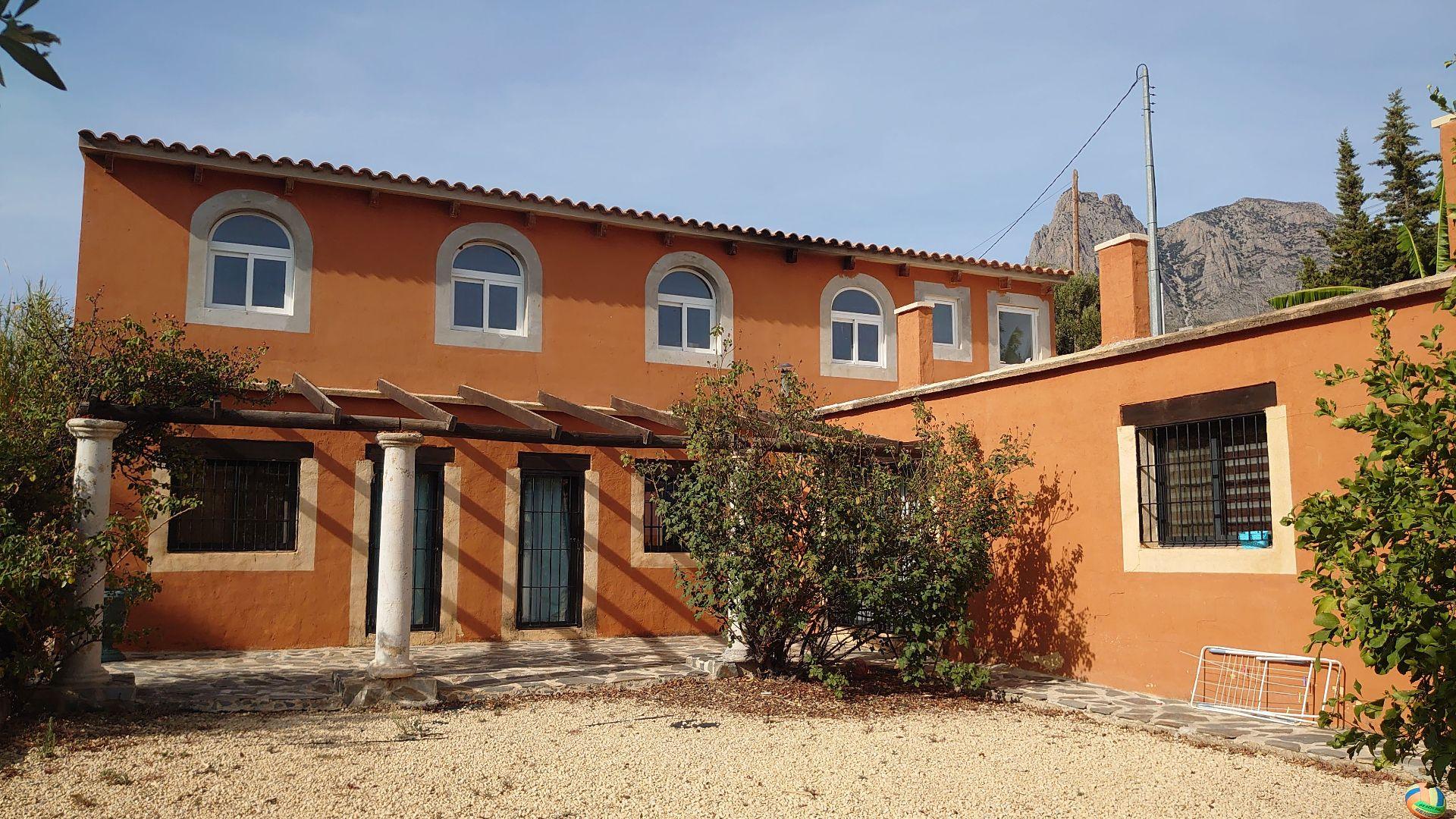 Casa de campo en Finestrat, Partida Cantereria (extraradio), alquiler