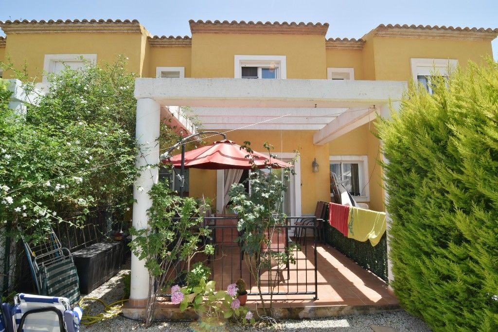 Terraced House in Calpe / Calp, La cometa, for sale