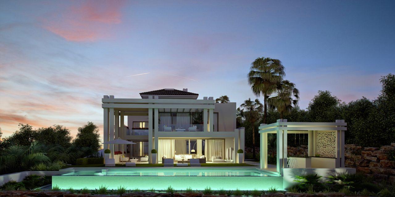 Luxury Villa in Benahavís, FLAMINGOS, for sale