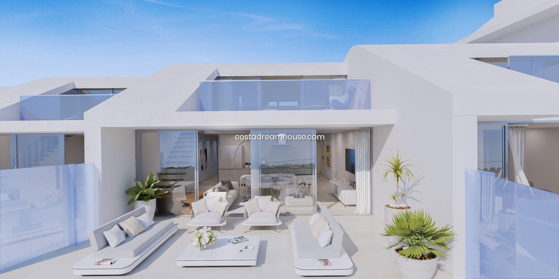 New Development Of Apartments In Benalmádena