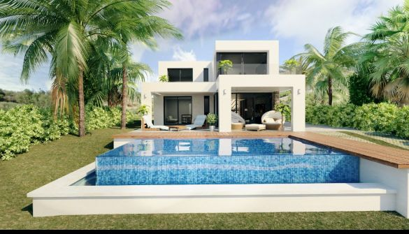 New Development of Villas in Mijas