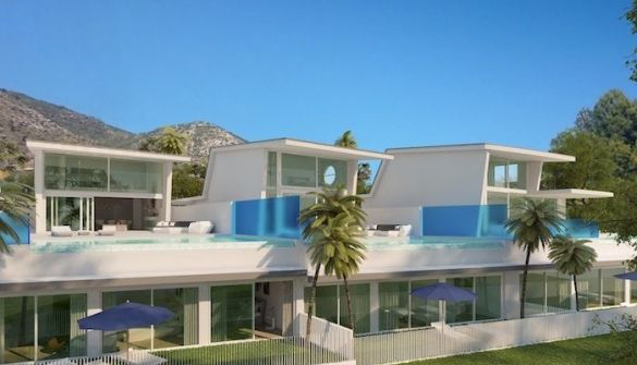 New Development of Villas in Benalmádena
