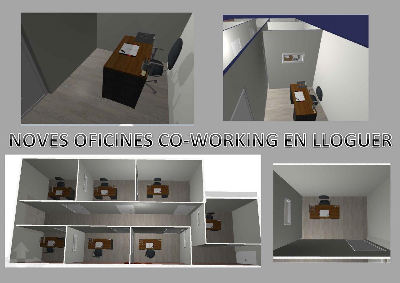 Oficina a Tordera, centre, en lloguer