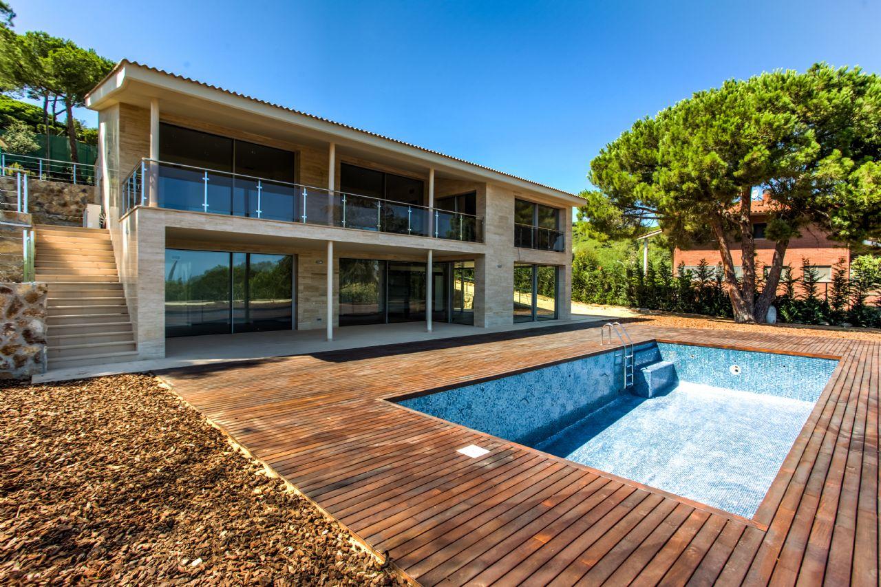 Vila de Luxe a Cabrera de Mar, en venda