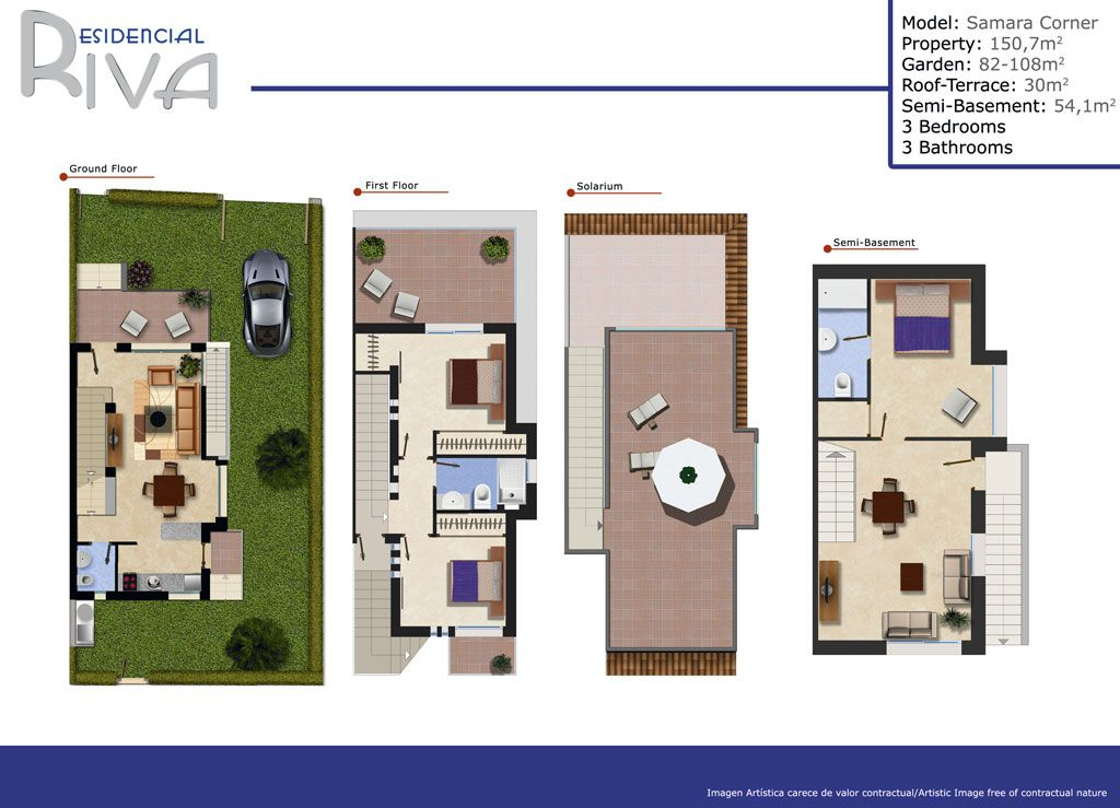 Duplex in Rojales, Rojales, for sale