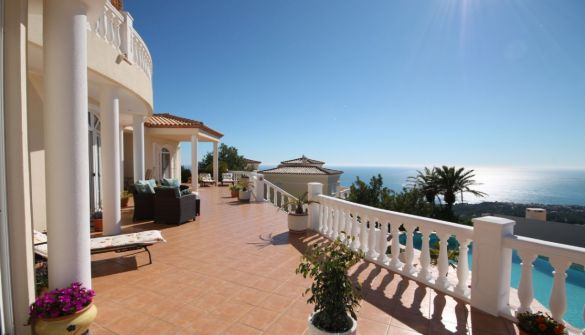 Villa in Altea, Sierra de Altea, for sale