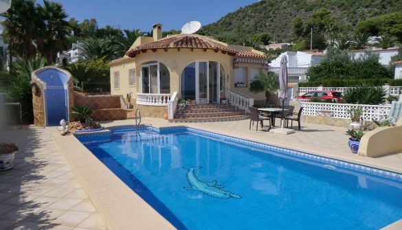 Villa in Calpe / Calp, La Canuta de Ifach, for sale