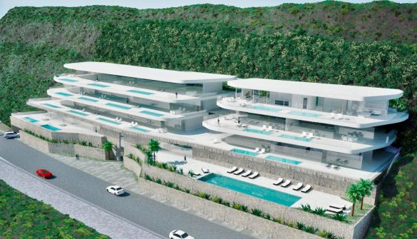 New Development of Apartments in Acantilado de los Gigantes