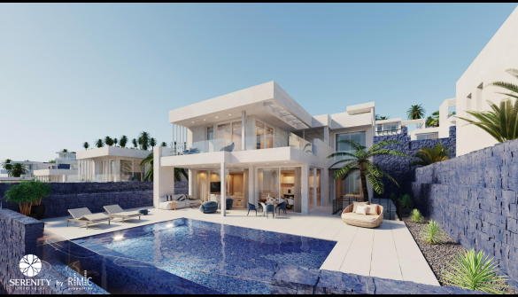 New Development of Luxury Villas in Adeje