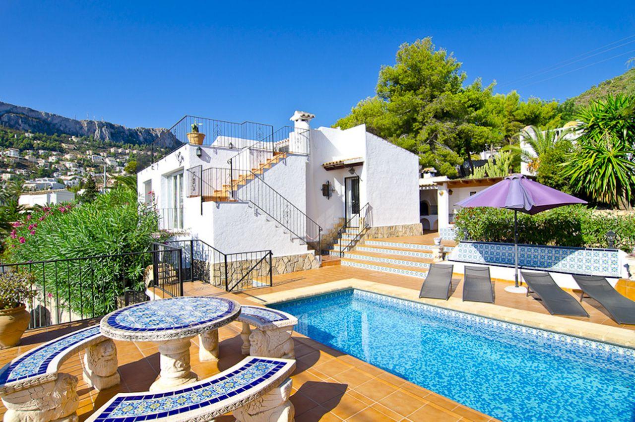 Villa in Calpe / Calp, CANUTA DE IFACH, holiday rentals