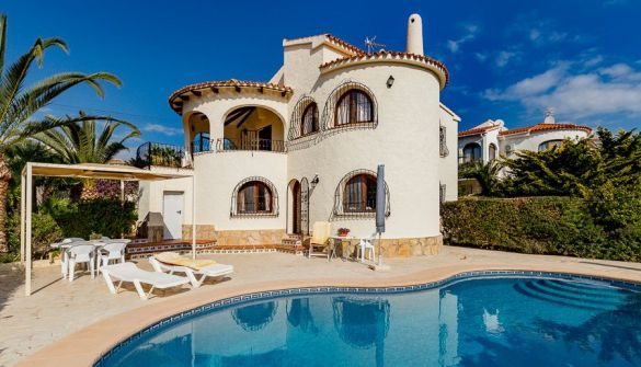 Villa in Calpe / Calp, ENCHINENT, holiday rentals