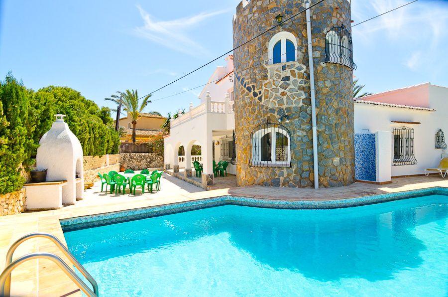 Villa in Calpe / Calp, EL TOSAL, holiday rentals