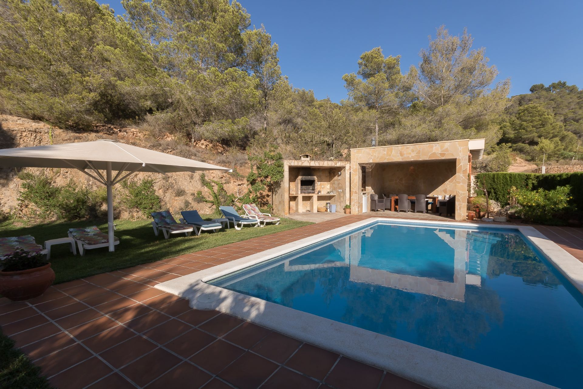 Casa de campo en Sant Josep de sa Talaia, Cala Comte, alquiler