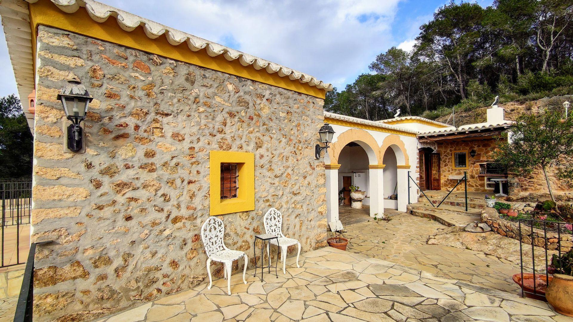 Casa de campo en Sant Antoni de Portmany, CAN TOMAS, alquiler