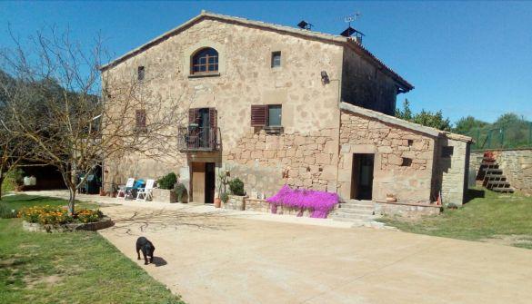 Casa de campo en Aguilar De Segarra de 5 habitaciones