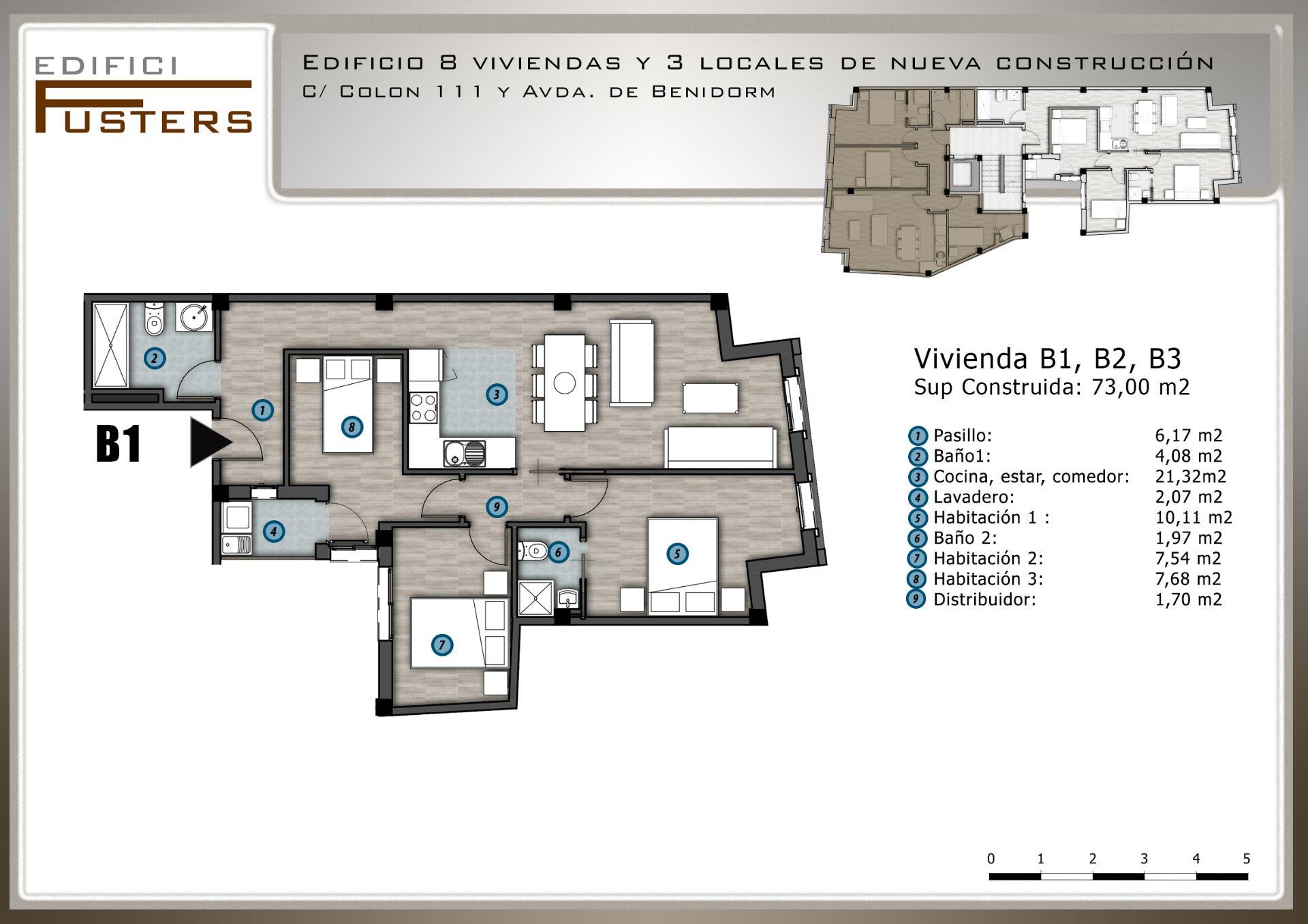 Leilighet i Villajoyosa, salg