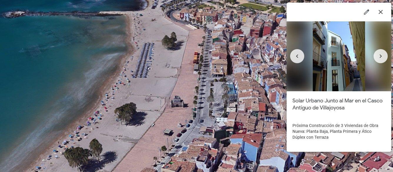 Solar Urbano en Villajoyosa, Casco Antiguo Villajoyosa, venta