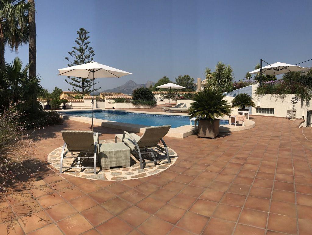 Villa in Altea, Sierra de Altea, for sale