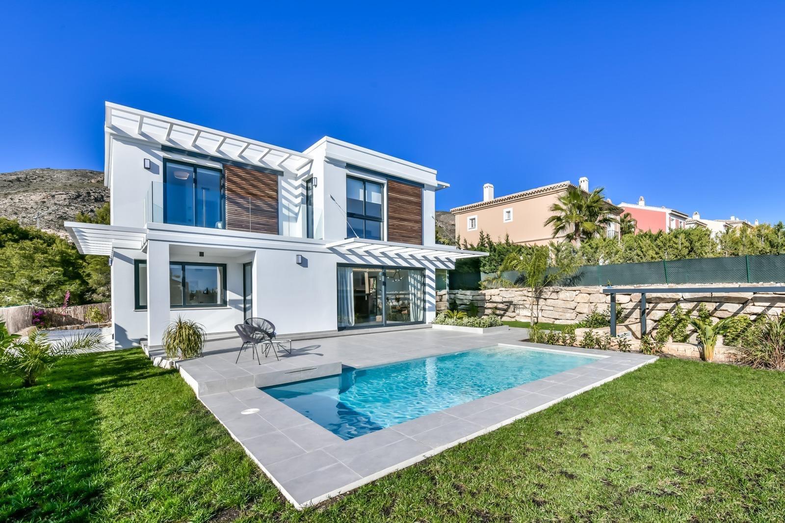 For Sale Luxury Villa In Finestrat Finestrat Sierra Cortina With Swimming Pool