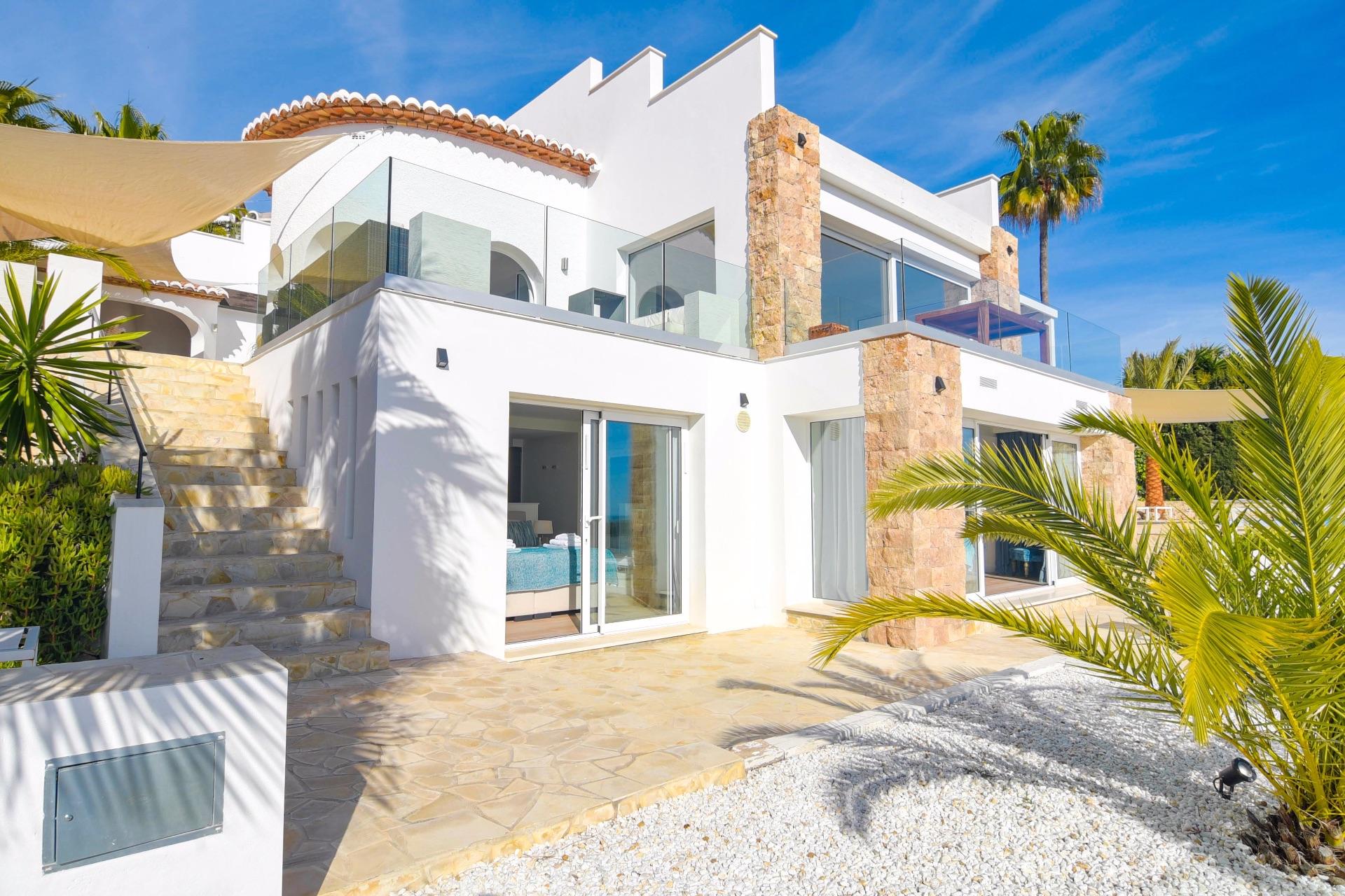 Villa in Moraira, holiday rentals