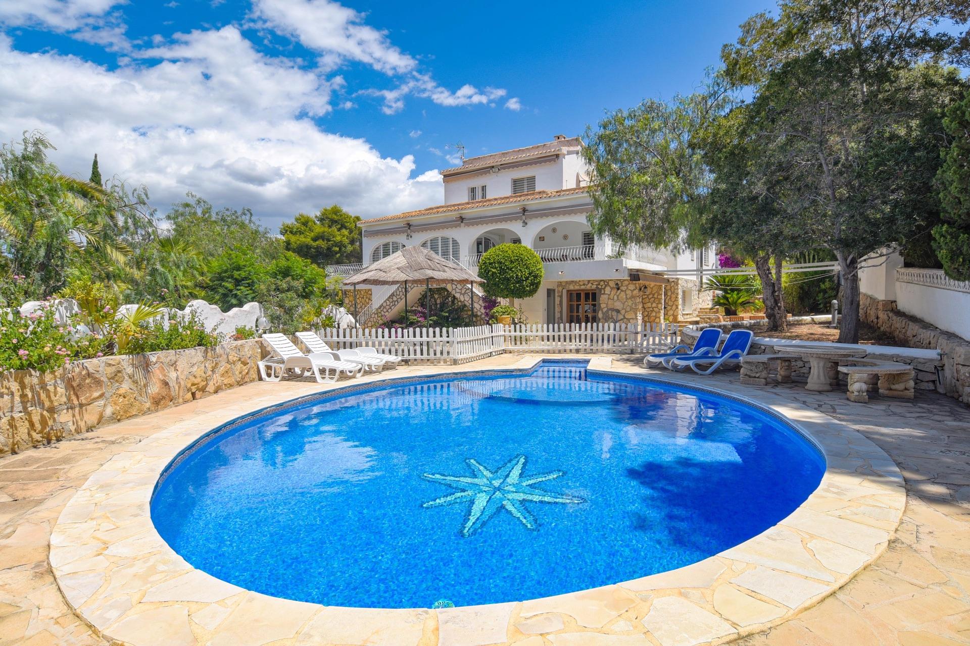 Villa in Moraira, for rent