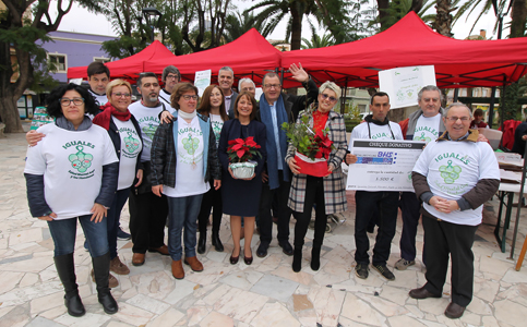 Janssens Partner werkt samen met de firma BHS Recycling in een gift aan de vereniging IGUALES.