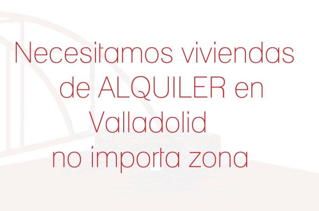 Piso en Valladolid, alquiler