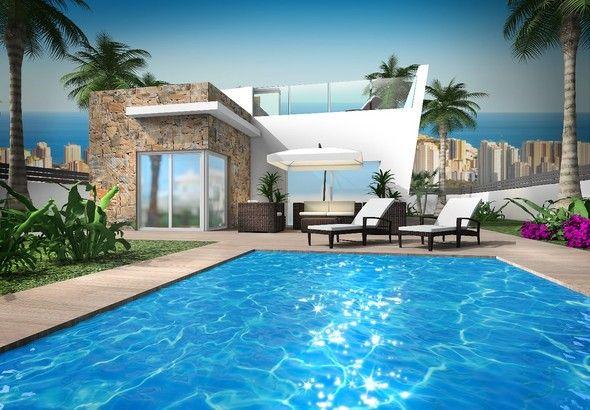 Villa i Benidorm, Balcón de Finestrat, till salu
