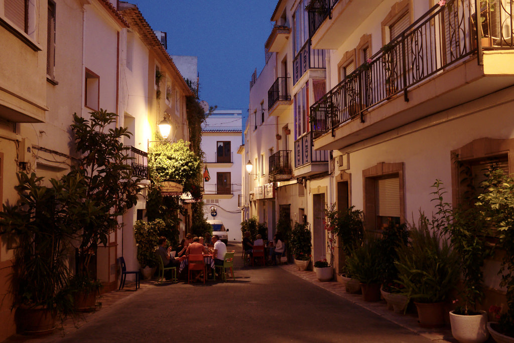 Old town Calpe