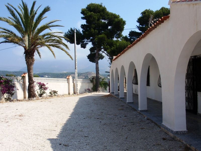 Countryside property in Altea, holiday rentals