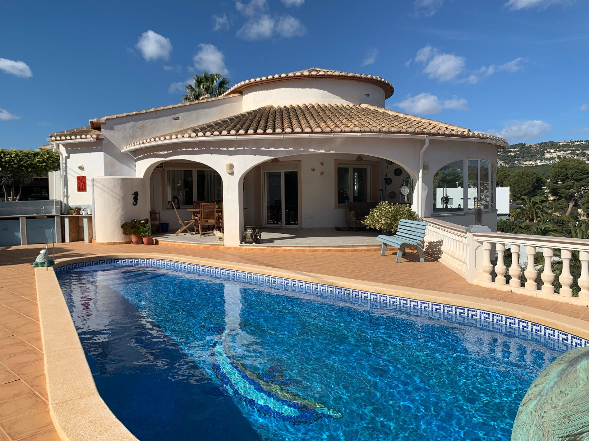 Villa in Calpe / Calp, LA FUSTERA, for sale
