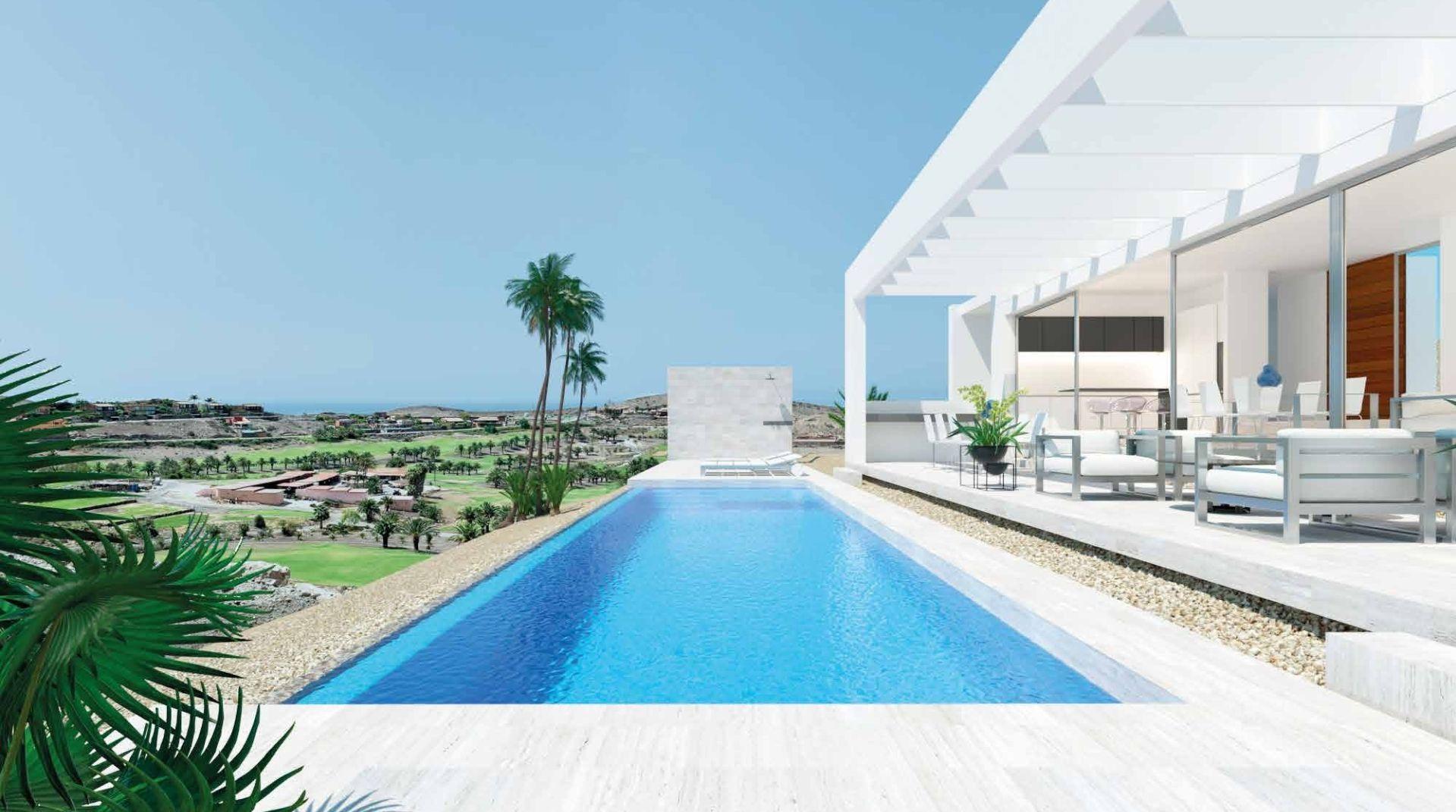Villas de lujo con piscina en Gran Canaria