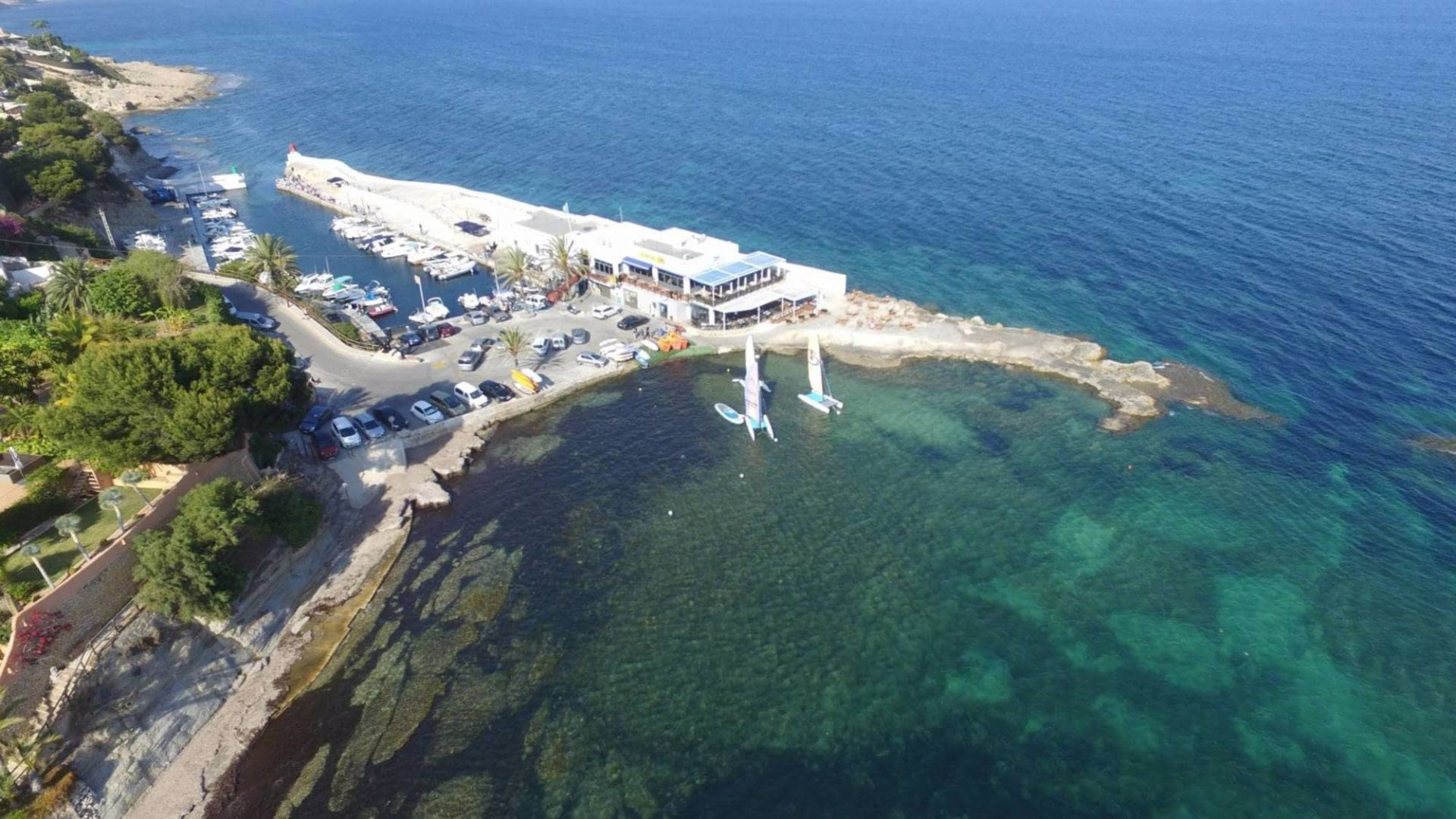 La Bahía de les Basetes entre Calpe y Benissa