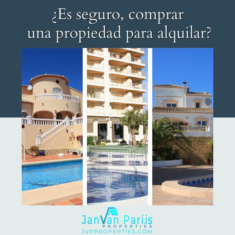 ¿Es seguro comprar una propiedad para alquilar en 2019?