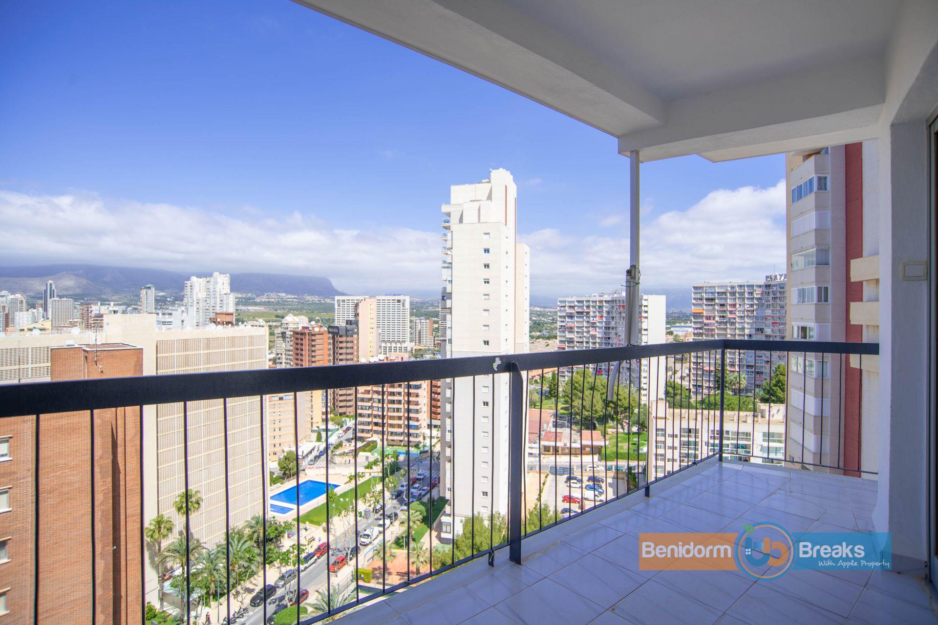 Apartamento en Benidorm, alquiler vacacional