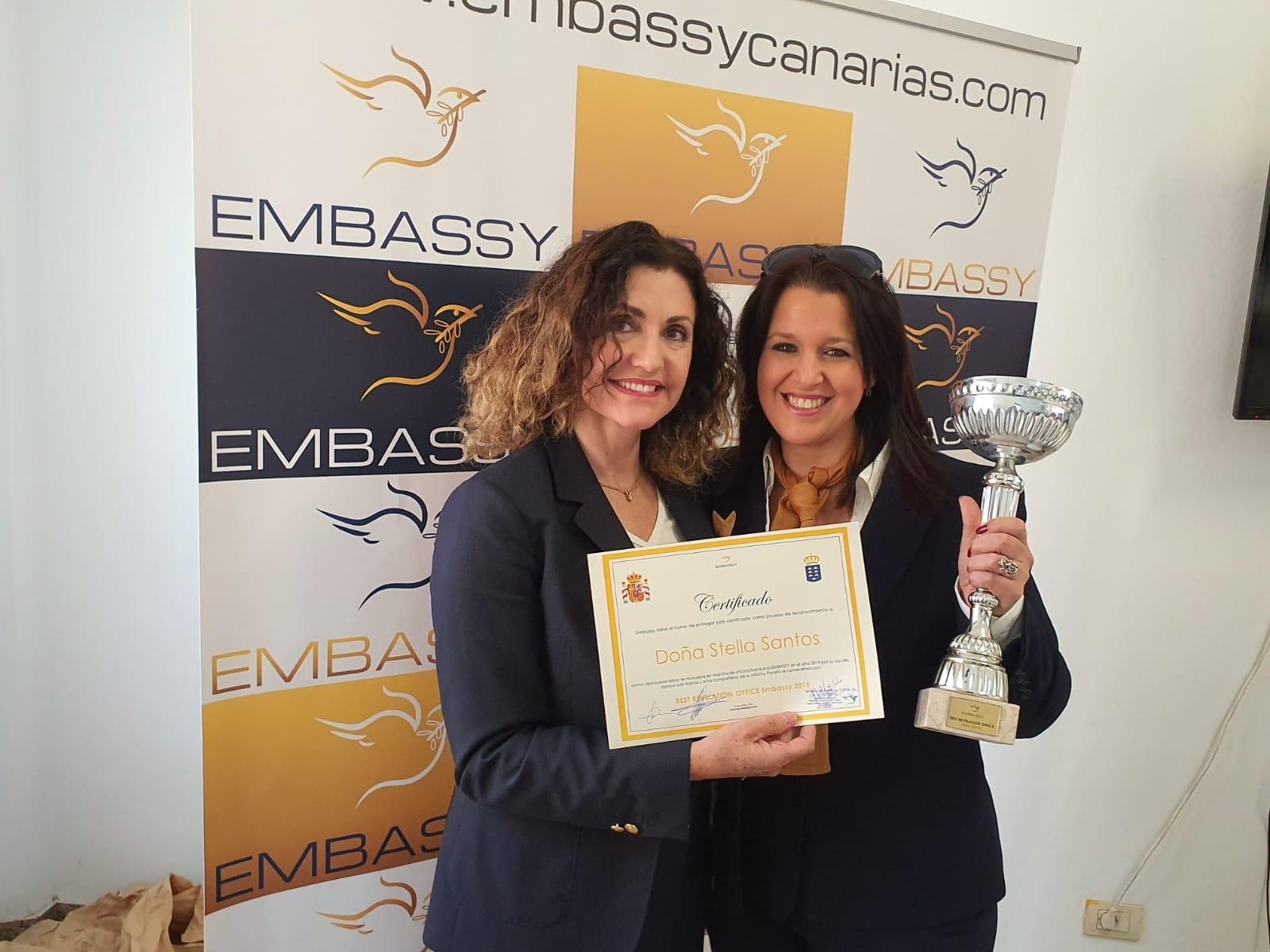 Premio Oficina Revelación Embassy 2019