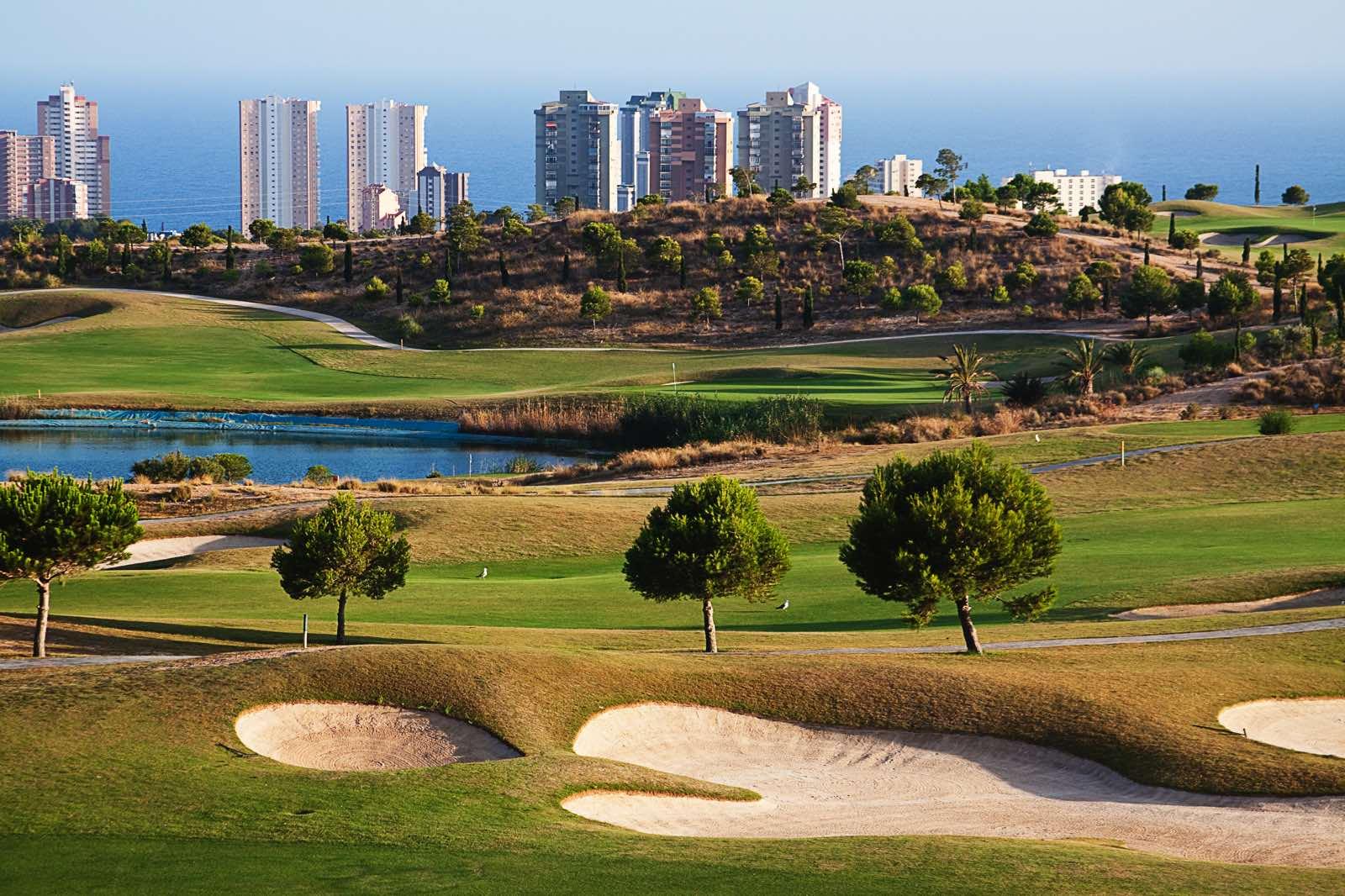 Golf-kenttä Costa Blancalla.