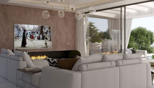 New Development of luxury villas in Mijas